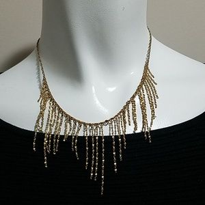 Jewelry - Gold Colored Dangling Necklace